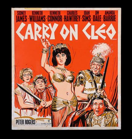 Lot #22 - CARRY ON CLEO (1964) - UK Lift Bill Original Final Artwork