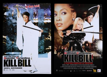 Lot #73 - KILL BILL: VOLUME 1 (2003) - Two Thai Posters 2003