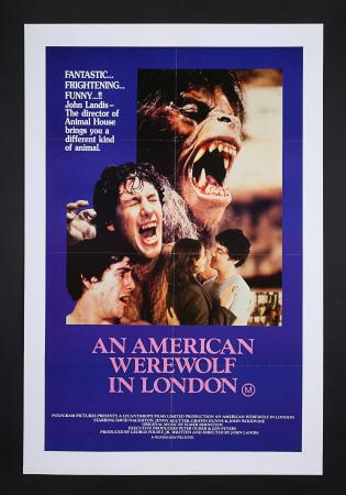 Lot #258 - AN AMERICAN WEREWOLF IN LONDON (1982) - Australian One-Sheet 1982