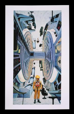 Lot #8 - 2001: A SPACE ODYSSEY (1968) - Limited-Edition Print of Centrifuge Aboard Discovery by Robert McCall