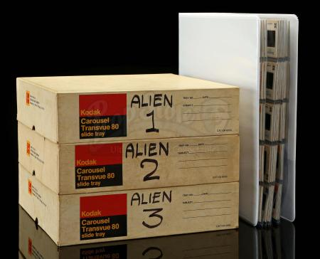 Lot #19 - ALIEN (1979) - Ron Cobb's Production Photography Archive