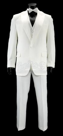 Lot #45 - ANCHORMAN 2: THE LEGEND CONTINUES (2013) - Ron Burgundy's White Tuxedo