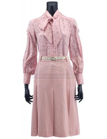 Lot #46 - ANCHORMAN 2: THE LEGEND CONTINUES (2013) - Veronica Corningstone's Pink Anchor Costume