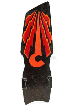 Lot #87 - BACK TO THE FUTURE PART II (1989) - Spike's (Darlene Vogel) Question Mark Hoverboard