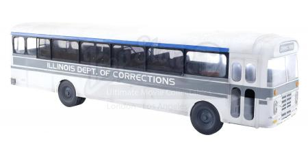 Lot #295 - THE FUGITIVE (1993) - Prison Bus Model Miniature