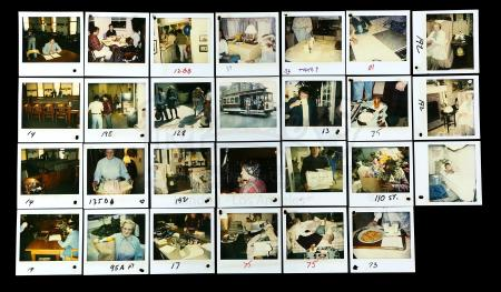 Lot #545 - MRS. DOUBTFIRE (1993) - Continuity Polaroids Featuring Robin Williams