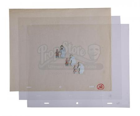 Lot #627 - THE SNOWMAN (1982) - Three Dance Sequence Animation Cels