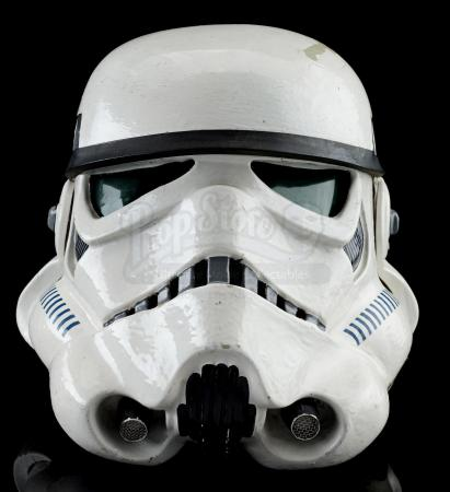Lot #727 - STAR WARS: A NEW HOPE (1977) - Screen-matched Tantive IV Stormtrooper Helmet