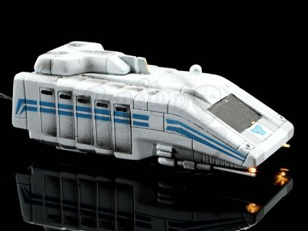 Lot #781 - STAR WARS: STAR TOURS (THEME PARK ATTRACTION, 1987 - 2016) - StarSpeeder 3000 Light-up Model Miniature