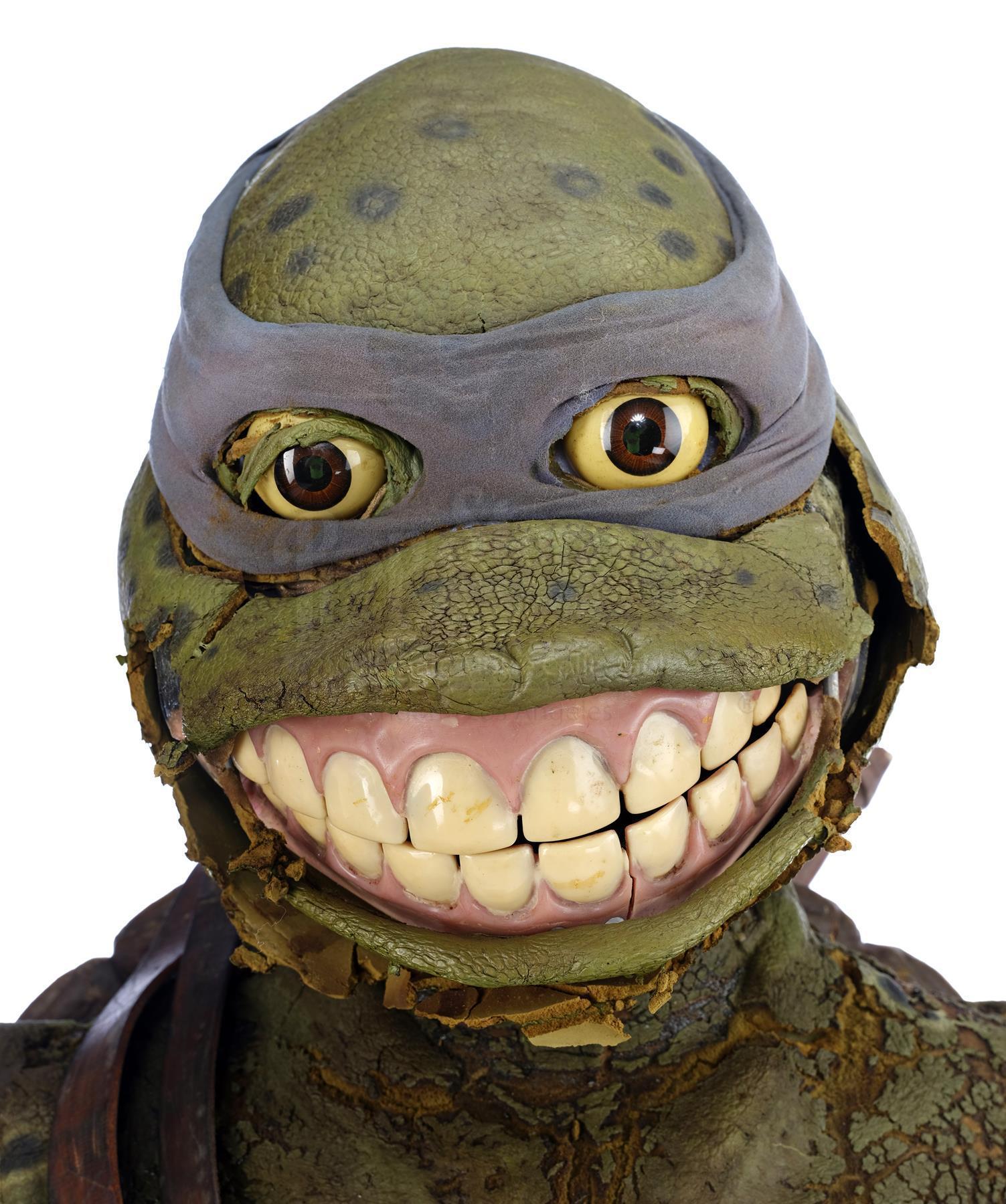 Lot 828 Teenage Mutant Ninja Turtles Iii 1993 Leonardo S