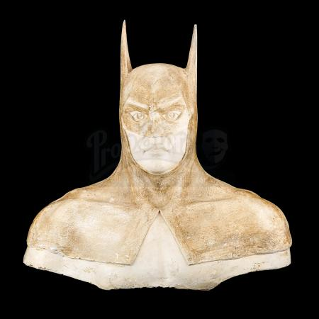 Lot #102 - BATMAN (1989) - First Prototype Sculpt for Bat Cowl