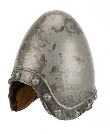 Lot #542 - MONTY PYTHON AND THE HOLY GRAIL (1975) - French Taunter's Helmet