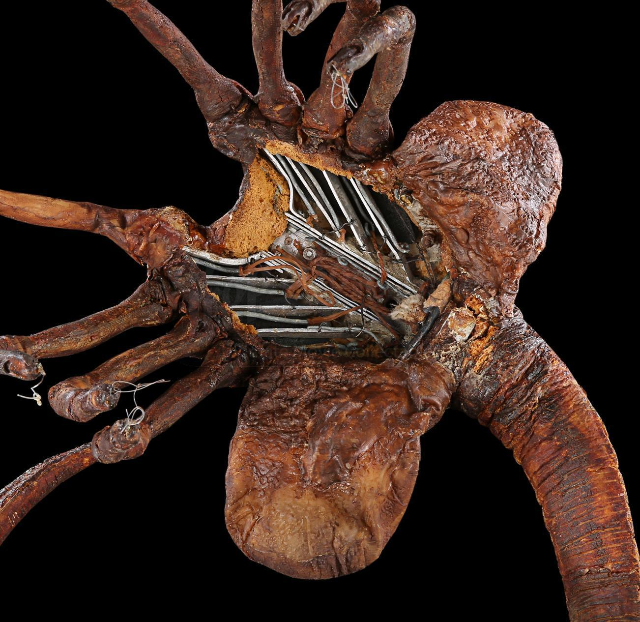 Lot #23 - ALIEN (1979) - Special Effects Facehugger ...
