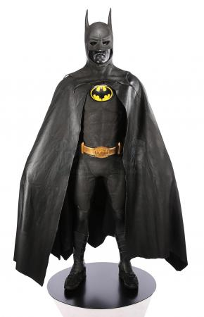 Lot #103 - BATMAN (1989) - Batman's (Michael Keaton) Batsuit