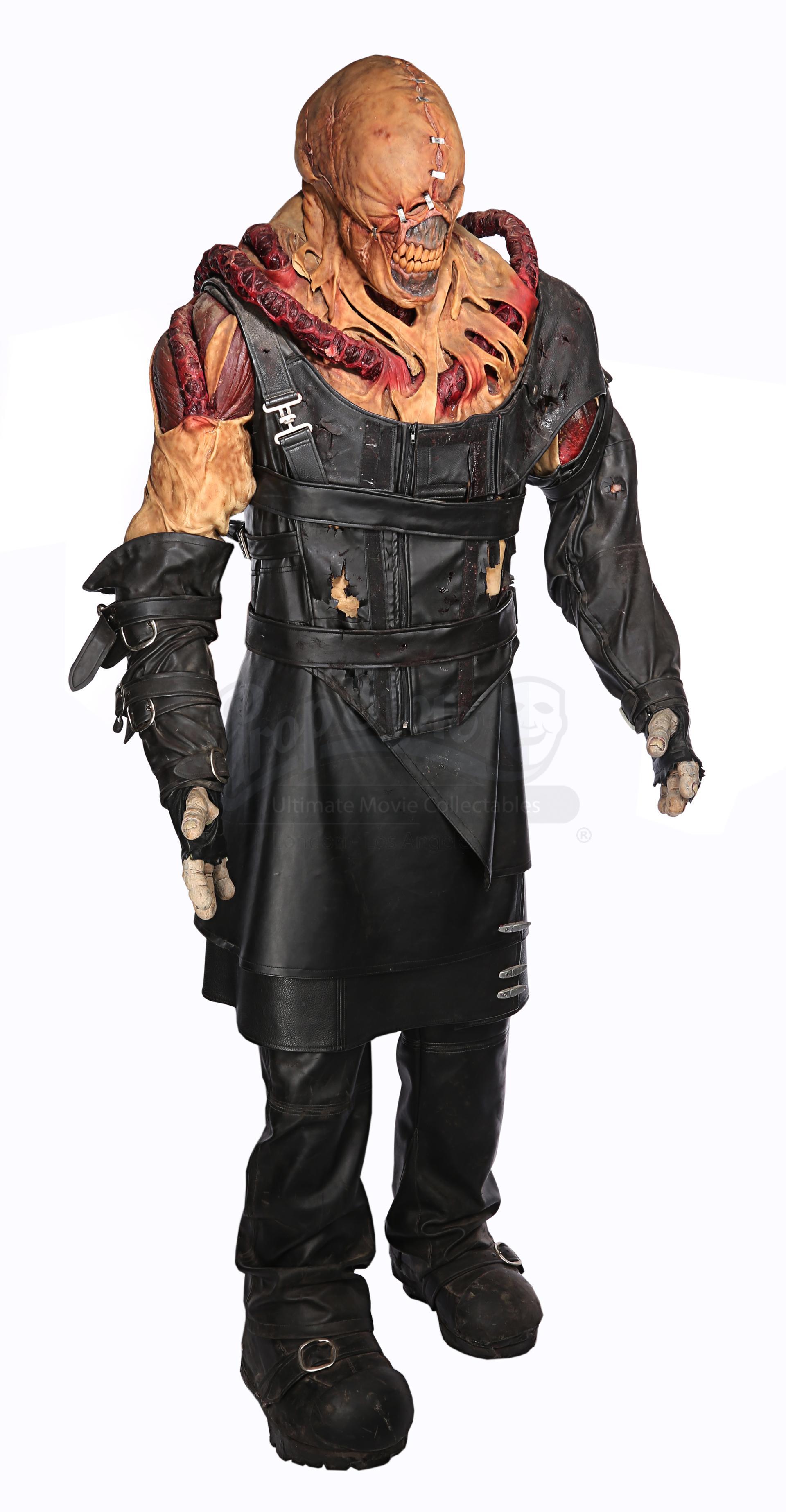 Lot 592 Resident Evil Apocalypse 2004 The Nemesis Matthew G Taylor Costume And Prosthetics Price Estimate 8000 12000