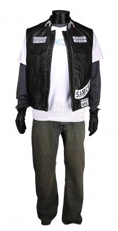 "Lot #630 - SONS OF ANARCHY (TV SERIES 2008-2014) - Jackson ""Jax"" Teller's (Charlie Hunnam) Costume"