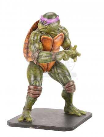 Lot #826 - TEENAGE MUTANT NINJA TURTLES - Donatello Art Department Maquette