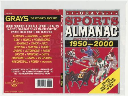 Lot #76 - BACK TO THE FUTURE PART II (1989) - Grays Sports Almanac Cover