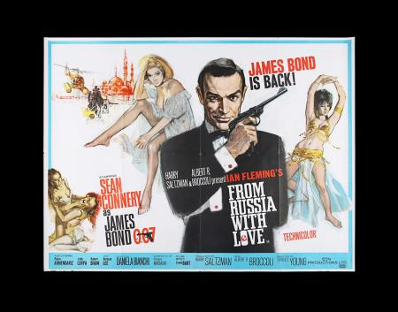 Lot #14 - FROM RUSSIA WITH LOVE (1963) - UK Quad Poster, 1963