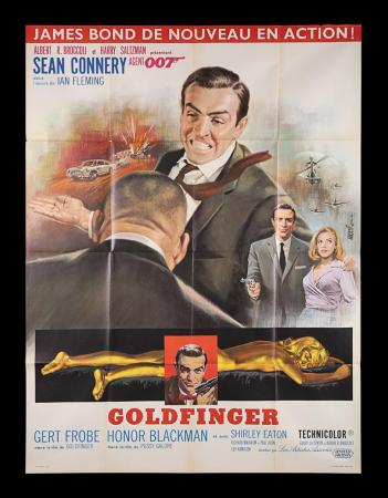 Lot #30 - GOLDFINGER (1964) - French Grande Affiche, 1964