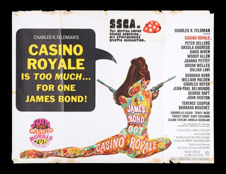 Lot #48 - CASINO ROYALE (1967) - UK Quad Poster, 1967