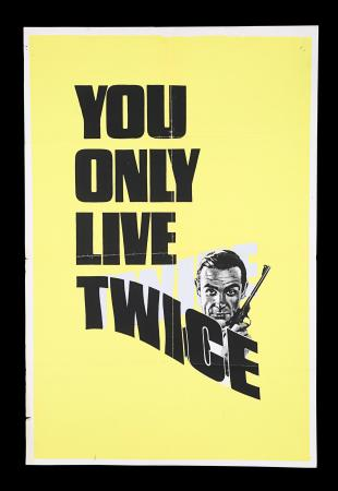 Lot #50 - YOU ONLY LIVE TWICE (1967) - UK Double-Crown Advance Poster, 1967