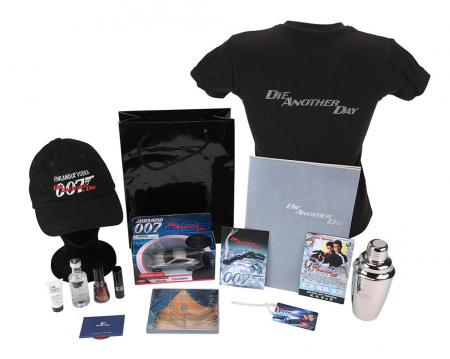 Lot #175 - DIE ANOTHER DAY (2002) - World Premiere Gift Set, 2002