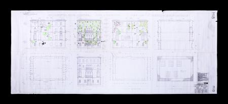 Lot #176 - CASINO ROYALE (2006) - Large Set Plan Drawing, 2006