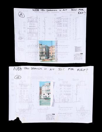 Lot #177 - CASINO ROYALE (2006) - Two Set Plan Drawings and Photos, 2006