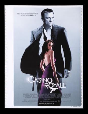 "Lot #178 - CASINO ROYALE (2006) - UK One-Sheet ""Printer's Proof"" Poster, 2006"