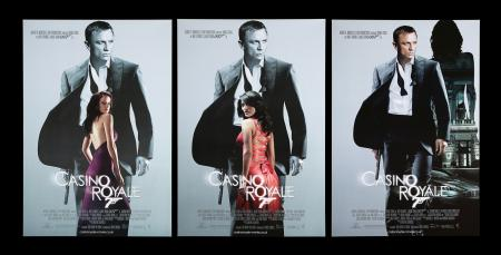 Lot #180 - CASINO ROYALE (2006) - Three UK One-Sheet Posters, 2006