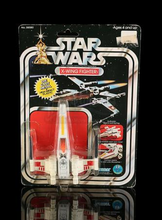 Lot # 2 - Diecast X-Wing Fighter