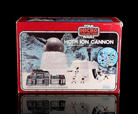 Lot # 7 - Micro Collection Hoth Ion Cannon Action Playset