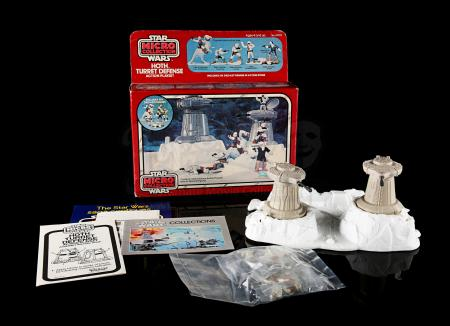 Lot # 8 - Micro Collection Hoth Turret Defense Playset