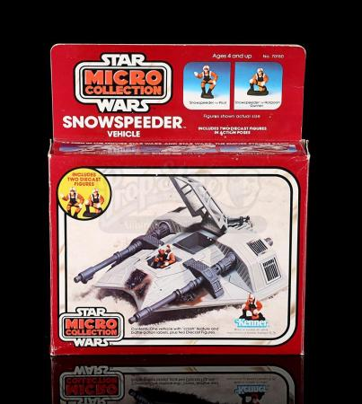 Lot # 10 - Micro Collection Snowspeeder