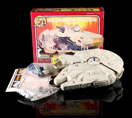 Lot # 13 - Micro Collection Millennium Falcon