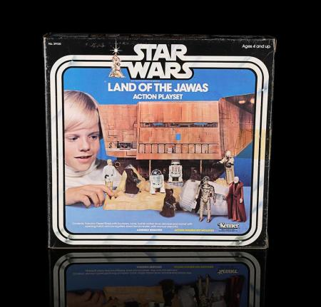 Lot # 17 - Land of the Jawas Action Playset