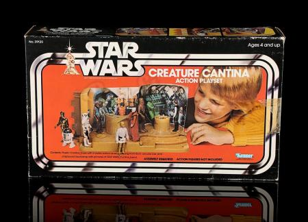 Lot # 20 - Creature Cantina Action Playset