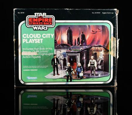 Lot # 27 - Cloud City Playset