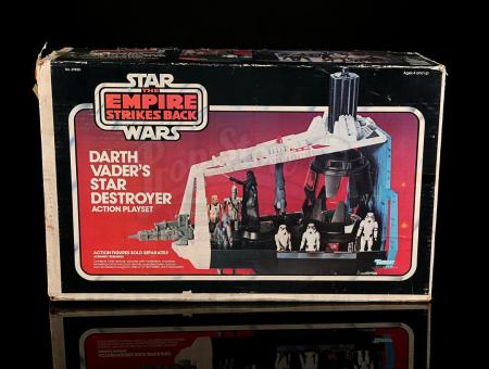 Lot # 34 - Darth Vader's Star Destroyer Action Playset