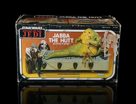 Lot # 37 - Jabba The Hutt Playset