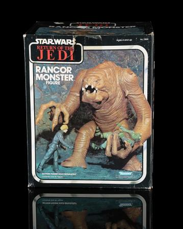 Lot # 39 - Rancor Monster Figure