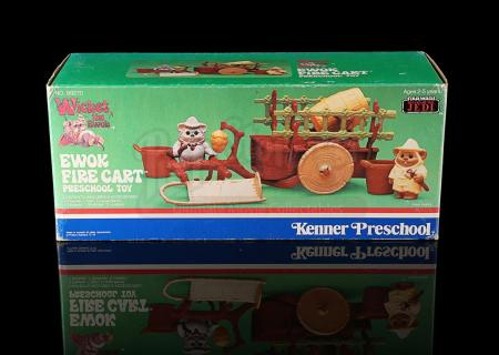 Lot # 42 - Ewok Fire Cart Preschool Toy
