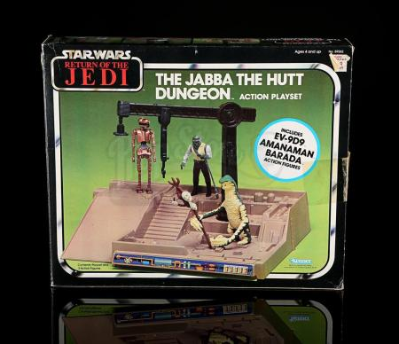 Lot # 43 - Jabba The Hutt Dungeon Action Playset