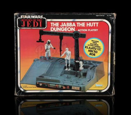 Lot # 45 - Jabba The Hutt Dungeon Action Playset
