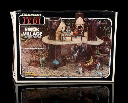 Lot # 49 - Ewok Village Action Playset