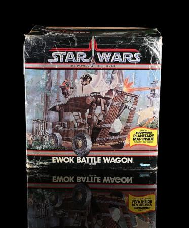 Lot # 51 - Ewok Battle Wagon Vehicle