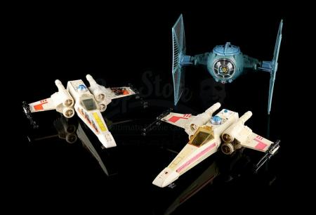 Lot # 56 - X-Wing Fighters & TIE Fighter