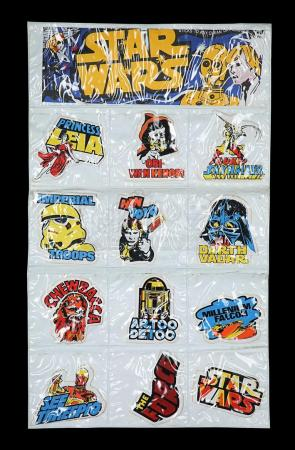 Lot # 57 - Bootleg Sticker Set & Display