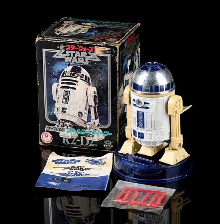 Lot # 70 - Missile Firing R2-D2 Diecast Toy